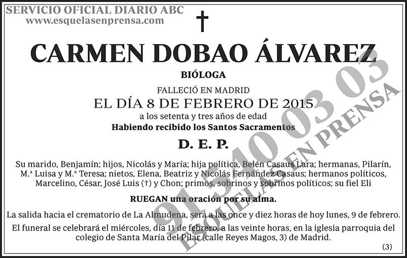 Carmen Dobao Álvarez